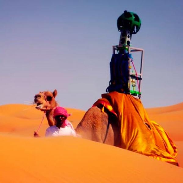 Google, панорама, фото, Пустыня в Google Street View
