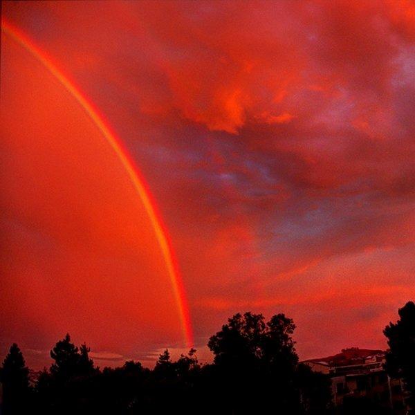 Солнце, физика, теория, исследование, планета, природа, океан, климат, вода, космос, астрономия, Red Rainbow: почему бывают красные радуги?