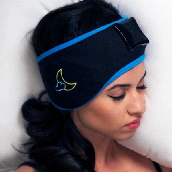 Kickstarter, дизайн, концепт, идея, краудфандинг, медицина, мозг, здоровье, организм человека, болезнь, Sleep Shepherd Blue: «умная» повязка, которая помогает заснуть