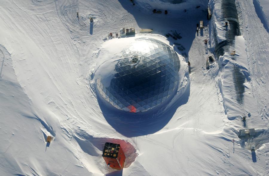 В Антарктиде нашли потерянный стратосферный телескоп