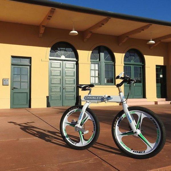 Kickstarter,идея,концепция,дизайн, Велосипед без цепи: старая новая идея