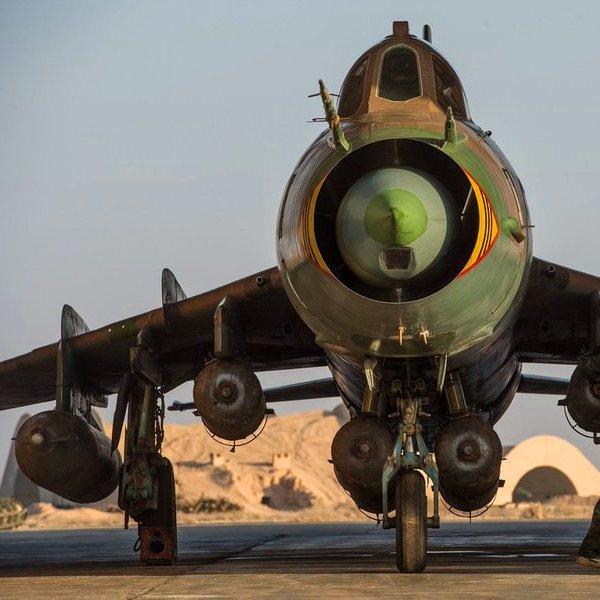 авиация,самолёт,рецензия,война, Су-22 vs F-18: как старый советский самолёт увернулся от современной американской ракеты?