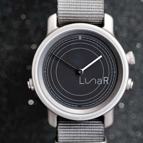 Kickstarter,идея,концепция,дизайн,часы, LunaR - часы, которые работают от Солнца