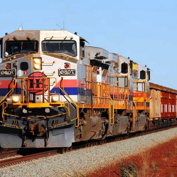 Дизайн, идея, концепт, дрон, беспилотник, поезд, транспорт, «Поедешь на биржу труда»: Rio Tinto Train - локомотив, которому не нужен машинист