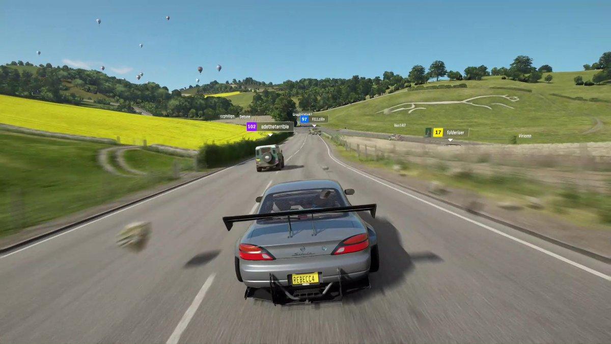 Microsoft показала геймплей Forza Horizon 4