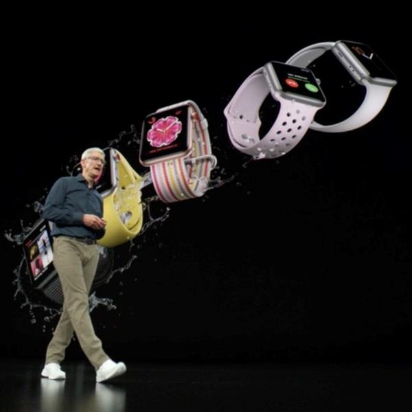 смартфон, часы, спорт, Apple представила три новых iPhone и умные часы для сердечников